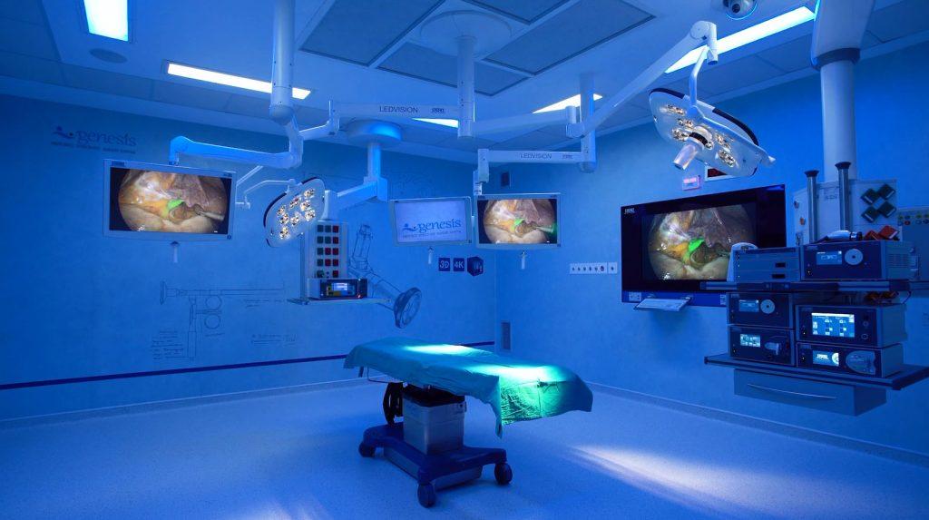 Κλινική Γένεσις όμιλος Euromedica χειρουργείο
